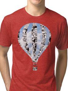Technology vs nature  Tri-blend T-Shirt
