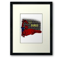Reluctand Smaug Framed Print
