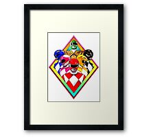 POWER RANGERS Framed Print