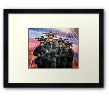 Peace and Friendship Russian Carnival Framed Print