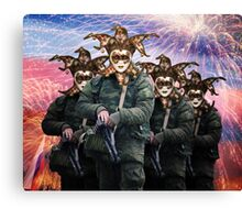 Peace and Friendship Russian Carnival Canvas Print