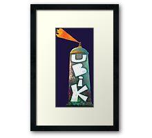 Phillip K Dick Sci Fi - Ubik Framed Print
