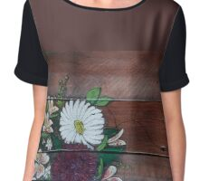 Super Market Bouquet- Pallet Chiffon Top