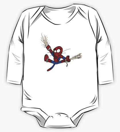 Spider-chat One Piece - Long Sleeve