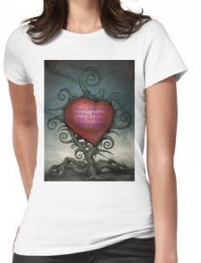 True Love Roots Womens Fitted T-Shirt