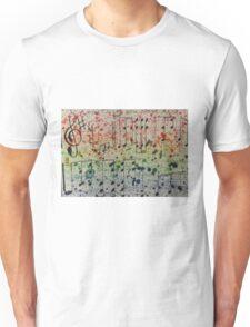 Pink Floyd- wish you were here music sheet art  Unisex T-Shirt