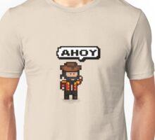 Pixel Pirate Ahoy Unisex T-Shirt