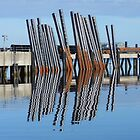 Docks Reflections - Stornoway Harbour by Kathryn Jones