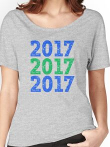 Seattle New Years 2017 Women's Relaxed Fit T-Shirt