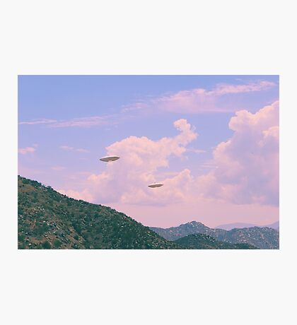 UFOs near Ramona Photographic Print