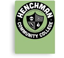 Henchman Community College Canvas Print