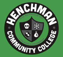 Henchman Community College Kids Clothes