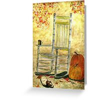 Autumn Rocks Greeting Card