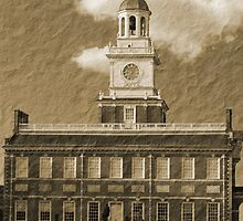 Independence Hall by Michael  Porchik