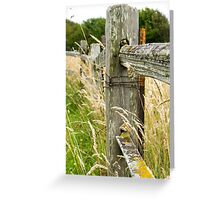 Gracefully Rustic Greeting Card