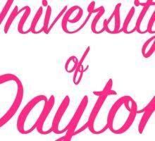 University of Dayton Lilly Inspired Sticker