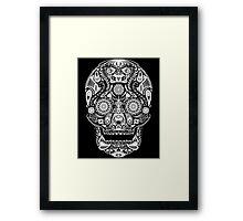 Dia De Los Muertos - Black Framed Print