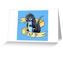 Little Lizard Greeting Card