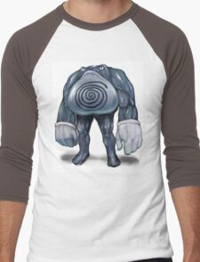 Realistic looking Polywrath Men's Baseball ¾ T-Shirt