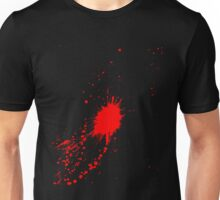 Halloween Blood Splatter Costume Unisex T-Shirt