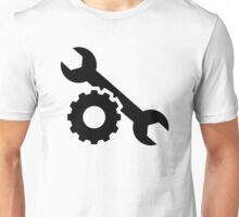 Screw wrench gear Unisex T-Shirt