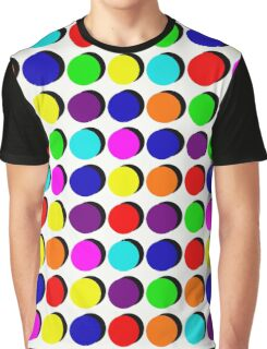 Pick A Colour, Push A Button Graphic T-Shirt