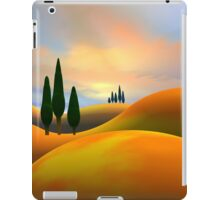 Mountains and pines iPad Case/Skin