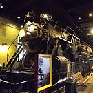 Vintage Locomotive, Philadelphia, Pennsylvania by lenspiro