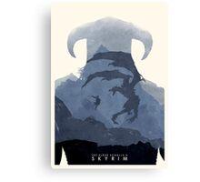 Skyrim II Canvas Print