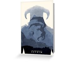 Skyrim II Greeting Card