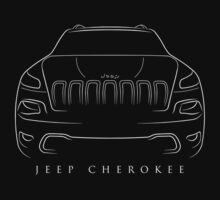 Jeep Cherokee KL - Stencil One Piece - Short Sleeve
