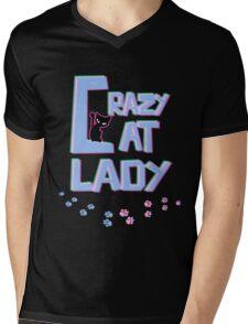 Crazy Cat Lady! Mens V-Neck T-Shirt