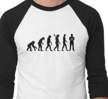Evolution security guard Men's Baseball ¾ T-Shirt