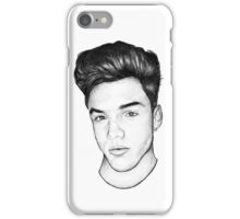 Simple Charcoal Grayson iPhone Case/Skin