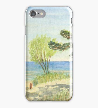 Am Ostseestrand auf der Düne iPhone Case/Skin