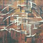 ABSTRACT COPPER(C2000) by Paul Romanowski