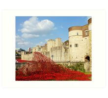 Wave of Blood-Tower of London Art Print