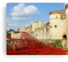 Wave of Blood-Tower of London Canvas Print
