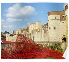 Wave of Blood-Tower of London Poster