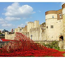 Wave of Blood-Tower of London Photographic Print