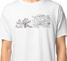 Gahan Wilson Art 1: US - Investigators Pursue the Mythos  Classic T-Shirt