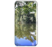 More autumn reflections iPhone Case/Skin