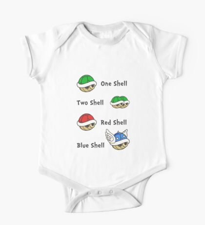 One Shell Two Shell One Piece - Short Sleeve