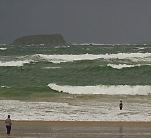 Pollan Bay, Ballyliffin by Kat Simmons