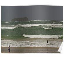 Pollan Bay, Ballyliffin Poster
