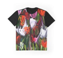 Tip Toe Through the Tulips Graphic T-Shirt