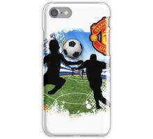 soccer Man-Uni  iPhone Case/Skin