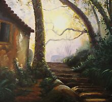 And Time Stands Still in Sintra by Almeida Coval