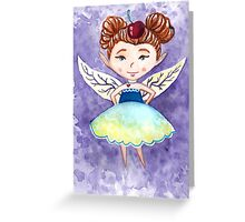 Cherry Fairy Greeting Card