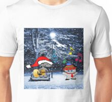 Cats Sing Christmas Carols Unisex T-Shirt